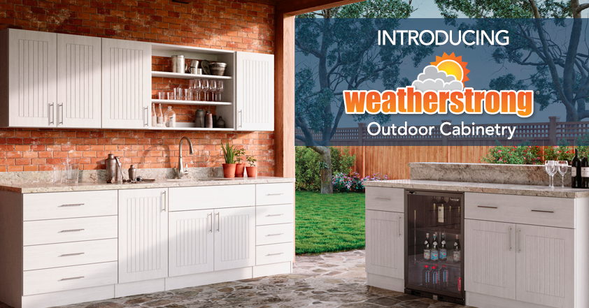 Weatherstrong Outdoor Kitchen Cabinetry